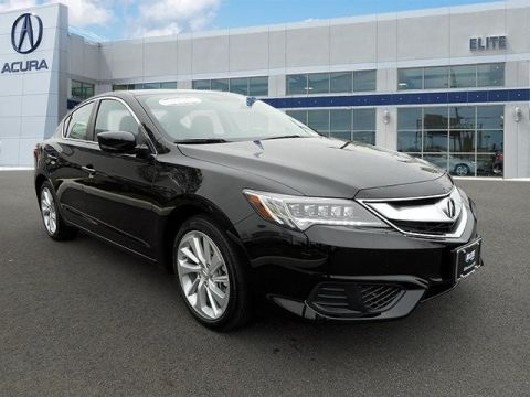 Certified Pre-Owned 2017 Acura ILX Base Front Wheel Drive Sedan