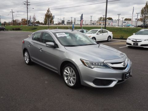 Certified Pre-Owned 2017 Acura ILX Base Sedan