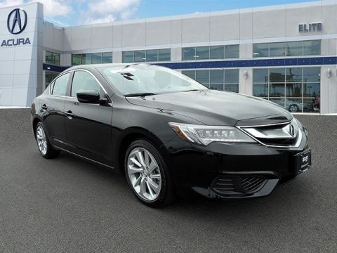 Certified Pre-Owned 2017 Acura ILX with Technology Plus Package Front Wheel Drive 4dr Car