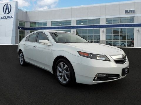 Certified Pre-Owned 2013 Acura TL  Front Wheel Drive Sedan