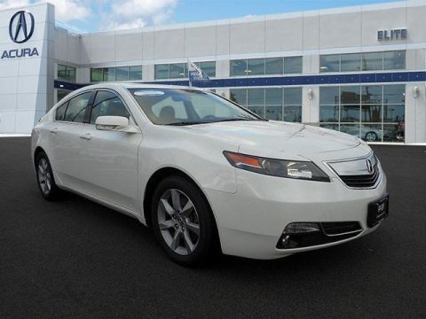 Certified Pre-Owned 2014 Acura TL  Front Wheel Drive 4dr Car