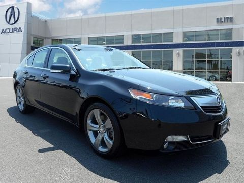 Certified Pre-Owned 2014 Acura TL with Advance Package Sedan