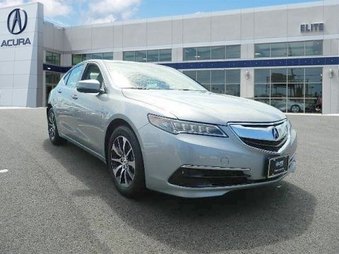 Certified Pre-Owned 2017 Acura TLX 2.4 8-DCT P-AWS Sedan