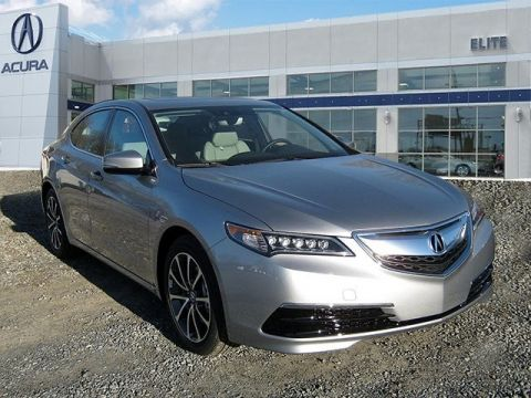 New 2017 Acura TLX 3.5 V-6 9-AT P-AWS with Technology Package With Navigation