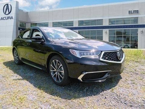 New 2018 Acura TLX 3.5 V-6 9-AT P-AWS with Technology Package With Navigation