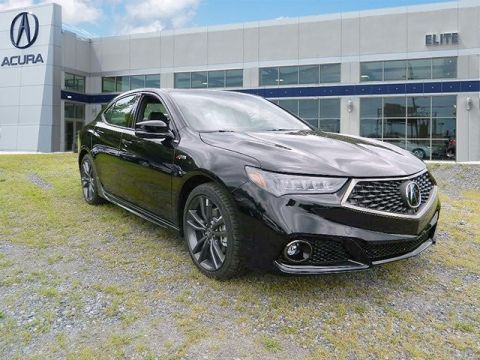 New 2018 Acura TLX 3.5 V-6 9-AT P-AWS with A-SPEC With Navigation