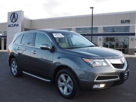 Certified Pre-Owned 2012 Acura MDX with Technology and Entertainment Packages AWD