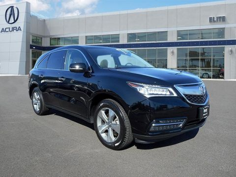 Certified Pre-Owned 2014 Acura MDX AWD AWD