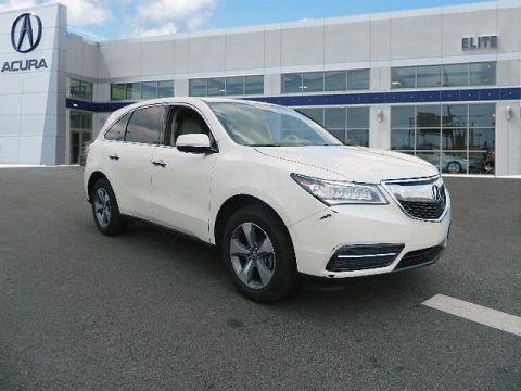 Certified Pre-Owned 2016 Acura MDX SH-AWD SUV