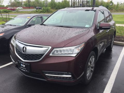 Certified Pre-Owned 2015 Acura MDX SH-AWD with Technology Package AWD