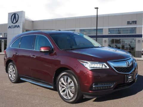 Certified Pre-Owned 2014 Acura MDX SH-AWD with Technology Package SUV
