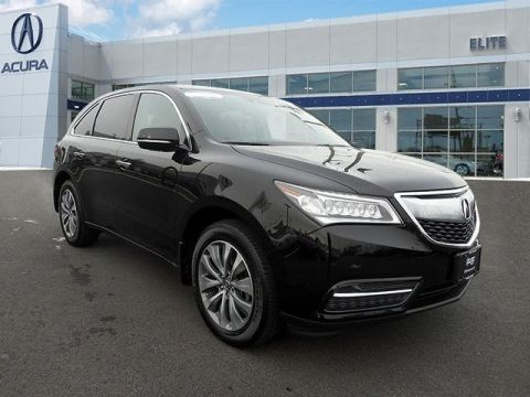 Certified Pre-Owned 2014 Acura MDX SH-AWD with Technology Package AWD
