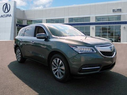 Certified Pre-Owned 2016 Acura MDX SH-AWD with Technology and Entertainment Packages SUV