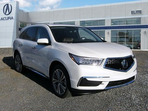 New 2017 Acura MDX SH-AWD with Technology and Entertainment Packages With Navigation & AWD