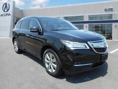 Certified Pre-Owned 2014 Acura MDX SH-AWD with Advance and Entertainment Packages AWD