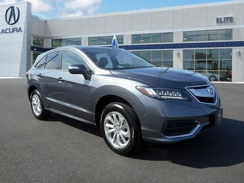 Certified Pre-Owned 2017 Acura RDX AWD with Technology Package AWD