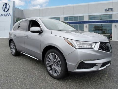 New 2017 Acura MDX SH-AWD with Technology and Entertainment Packages With Navigation