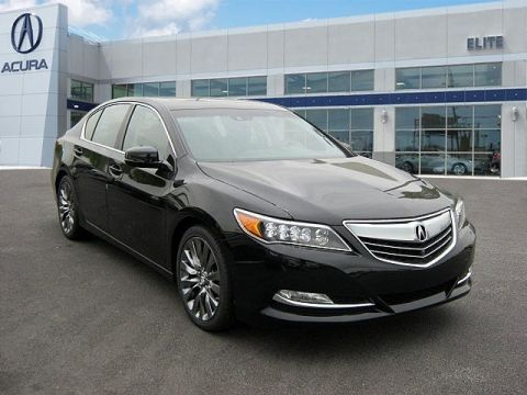 New 2017 Acura RLX with Advance Package With Navigation