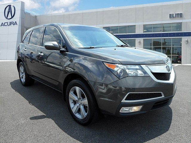 Certified Pre-Owned 2012 Acura MDX