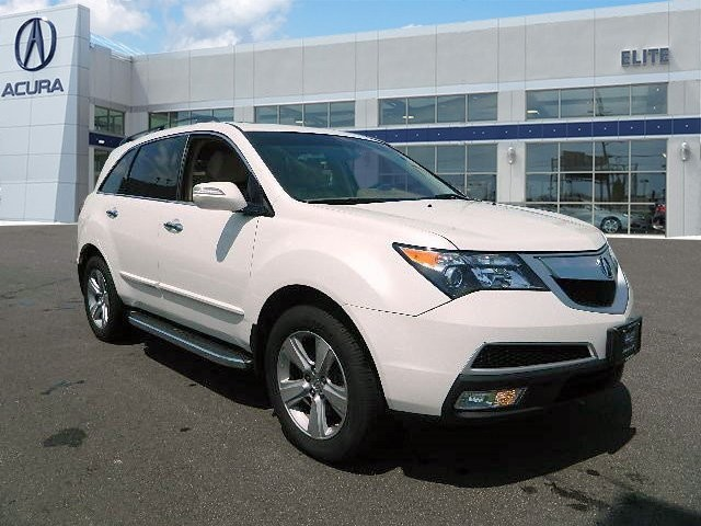 Certified Pre-Owned 2012 Acura MDX with Technology and Entertainment Packages