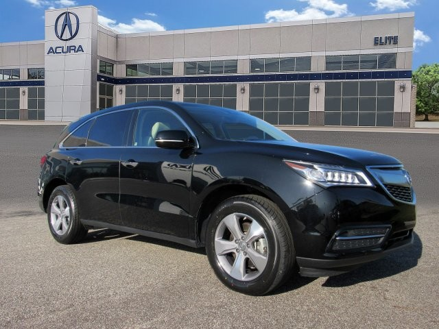 Certified Pre-Owned 2016 Acura MDX with AcuraWatch Plus