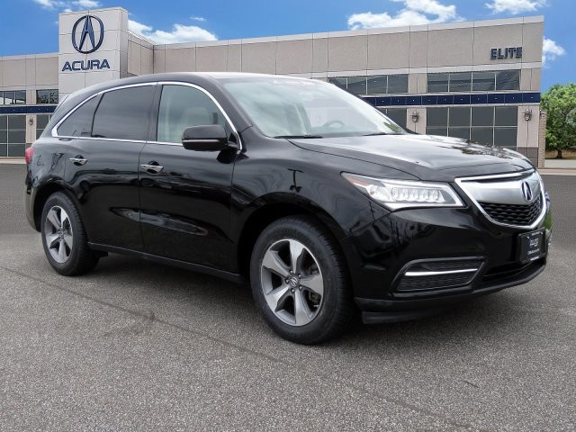 Certified PreOwned Acura MDX SHAWD SUV In Maple Shade - Acura mdx pre owned