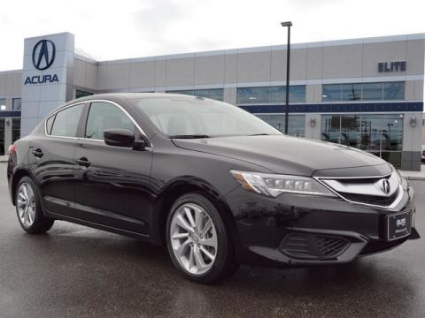 Certified Pre-Owned 2017 Acura ILX with Premium Package Sedan