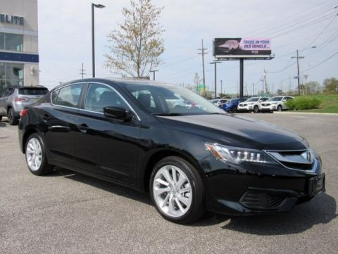Certified Pre-Owned 2018 Acura ILX with Technology Plus Package Sedan