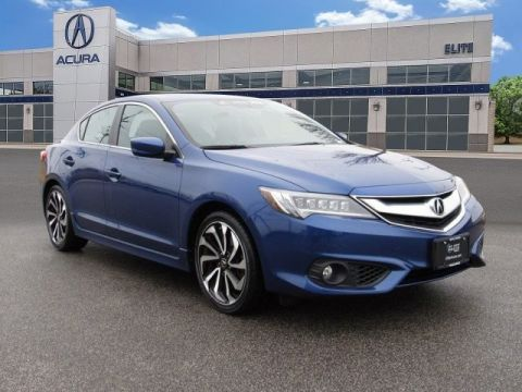 Certified Pre-Owned 2016 Acura ILX with Premium and A-SPEC Package Sedan