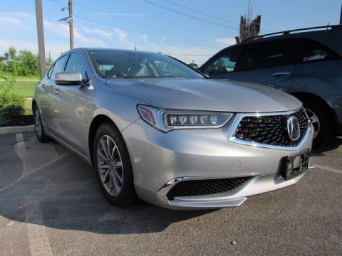 Certified Pre-Owned 2018 Acura TLX 2.4 8-DCT P-AWS Sedan -