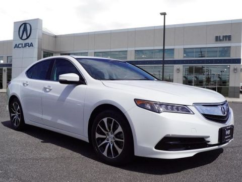 Certified Pre-Owned 2015 Acura TLX 2.4 8-DCT P-AWS Sedan