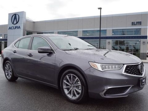 Certified Pre-Owned 2018 Acura TLX 2.4 8-DCT P-AWS Sedan