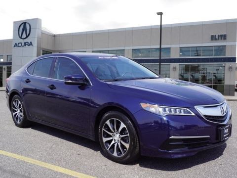 Certified Pre-Owned 2015 Acura TLX 2.4 8-DCT P-AWS with Technology Package Sedan