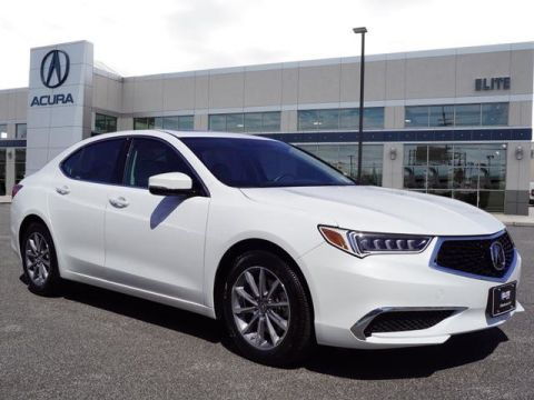 Certified Pre-Owned 2018 Acura TLX 2.4 8-DCT P-AWS with Technology Package Sedan