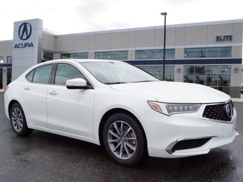 Certified Pre-Owned 2019 Acura TLX 2.4 8-DCT P-AWS with Technology Package Sedan