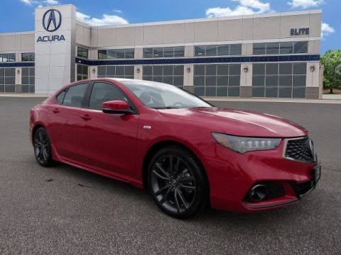 Certified Pre-Owned 2019 Acura TLX 2.4 8-DCT P-AWS with A-SPEC Sedan