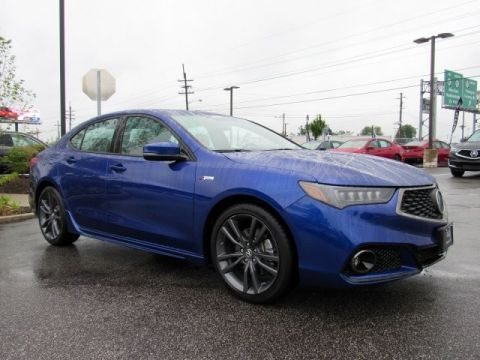Certified Pre-Owned 2019 Acura TLX 2.4 8-DCT P-AWS with A-SPEC RED Sedan