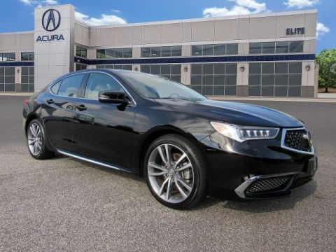 Certified Pre-Owned 2019 Acura TLX 3.5 V-6 9-AT P-AWS with Technology Package Sedan