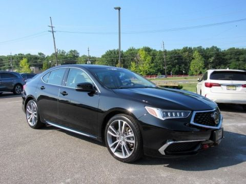 Certified Pre-Owned 2019 Acura TLX w/Technology Pkg Sedan