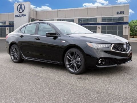 Certified Pre-Owned 2019 Acura TLX 3.5 V-6 9-AT P-AWS with A-SPEC Sedan