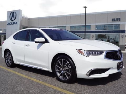 Certified Pre-Owned 2018 Acura TLX 3.5 V-6 9-AT SH-AWD with Technology Package Sedan