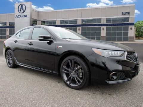 Certified Pre-Owned 2020 Acura TLX V-6 SH-AWD with A-Spec Package and Red Interior