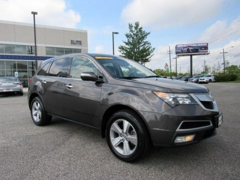 Pre-Owned 2011 Acura MDX AWD