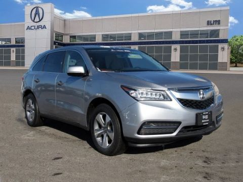Certified Pre-Owned 2016 Acura MDX AWD