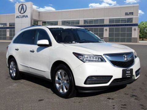 Certified Pre-Owned 2016 Acura MDX SH-AWD with Advance Package
