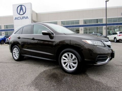 Certified Pre-Owned 2017 Acura RDX AWD SUV -