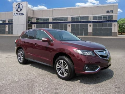 Certified Pre-Owned 2017 Acura RDX AWD with Advance Package SUV
