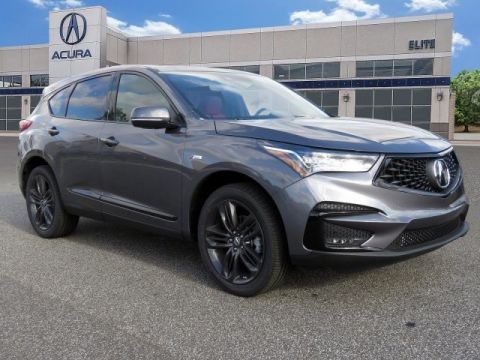 Certified Pre-Owned 2019 Acura RDX SH-AWD with A-Spec Package SUV