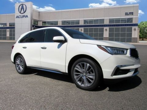 Certified Pre-Owned 2017 Acura MDX SH-AWD with Technology Package With Navigation -