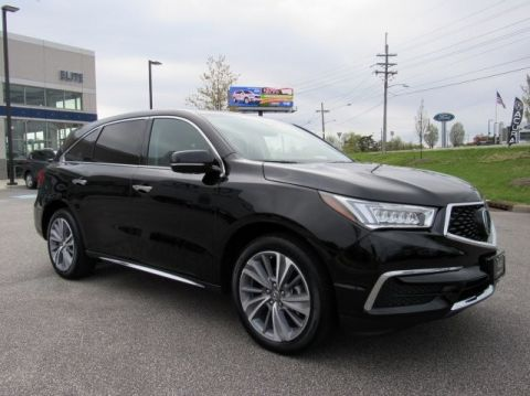 Pre-Owned 2018 Acura MDX w/Technology/Entertainment Pkg
